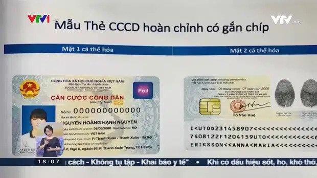 Ý nghĩa của 12 số trên thẻ CCCD mới có gắn chíp